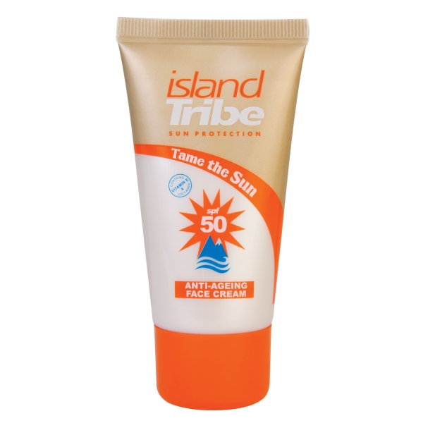 Island Tribe SPF 50 Anti-Ageing gezichts crème met collageen